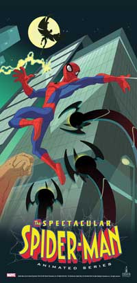 The Spectacular Spider-Man - 14 x 36 Movie Poster - Insert Style A