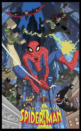 The Spectacular Spider-Man - 11 x 17 Movie Poster - Style A