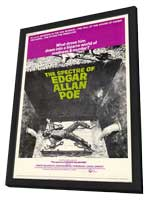 The Spectre of Edgar Allen Poe - 11 x 17 Movie Poster - Style A - in Deluxe Wood Frame