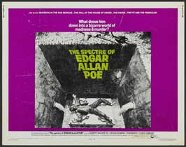 The Spectre of Edgar Allen Poe - 22 x 28 Movie Poster - Style A