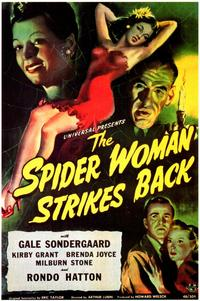 The Spider Woman Strikes Back - 11 x 17 Movie Poster - Style A