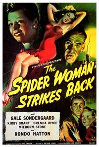 The Spider Woman Strikes Back - 27 x 40 Movie Poster - Style A