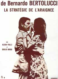 The Spider's Stratagem - 11 x 17 Movie Poster - French Style A