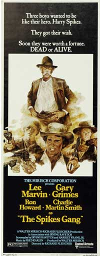 The Spikes Gang - 14 x 36 Movie Poster - Insert Style A