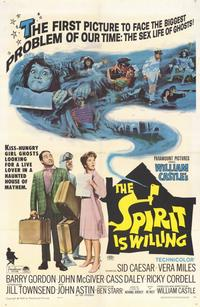 The Spirit is Willing - 11 x 17 Movie Poster - Style A