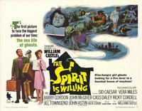The Spirit is Willing - 22 x 28 Movie Poster - Half Sheet Style A