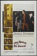 The Spirit of St. Louis - 43 x 62 Movie Poster - Bus Shelter Style B