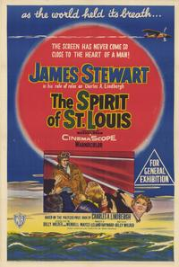 The Spirit of St. Louis - 11 x 17 Movie Poster - Style C
