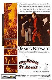 The Spirit of St. Louis - 43 x 62 Movie Poster - Bus Shelter Style A