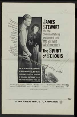 The Spirit of St. Louis - 11 x 17 Movie Poster - Style D