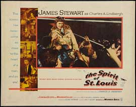 The Spirit of St. Louis - 22 x 28 Movie Poster - Half Sheet Style A