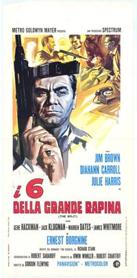 The Split - 11 x 17 Movie Poster - Italian Style A