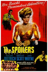 The Spoilers - 27 x 40 Movie Poster - Style B