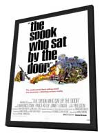 The Spook Who Sat by the Door - 11 x 17 Movie Poster - Style A - in Deluxe Wood Frame