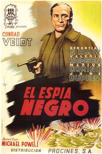 The Spy in Black - 27 x 40 Movie Poster - Spanish Style A