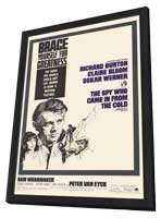 The Spy Who Came in from the Cold - 11 x 17 Movie Poster - Style A - in Deluxe Wood Frame