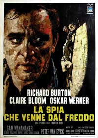 The Spy Who Came in from the Cold - 11 x 17 Movie Poster - Italian Style A