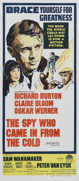 The Spy Who Came in from the Cold - 13 x 30 Movie Poster - Australian Style A