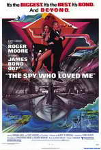 The Spy Who Loved Me - 27 x 40 Movie Poster - Style A