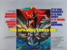 The Spy Who Loved Me - 27 x 40 Movie Poster - UK Style A