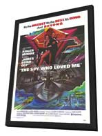 The Spy Who Loved Me - 11 x 17 Movie Poster - Style A - in Deluxe Wood Frame