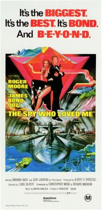 The Spy Who Loved Me - 11 x 17 Movie Poster - Style B