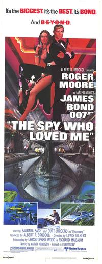 The Spy Who Loved Me - 11 x 17 Movie Poster - Style I
