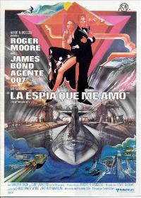 The Spy Who Loved Me - 11 x 17 Movie Poster - Spanish Style B