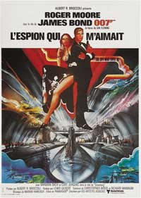 The Spy Who Loved Me - 11 x 17 Movie Poster - French Style A