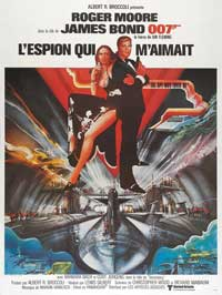 The Spy Who Loved Me - 27 x 40 Movie Poster - French Style A