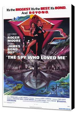 The Spy Who Loved Me - 27 x 40 Movie Poster - Style A - Museum Wrapped Canvas