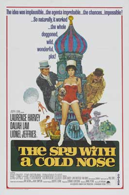 Spy with a Cold Nose - 11 x 17 Movie Poster - Style C