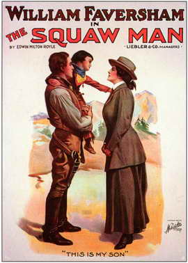 The Squaw Man - 11 x 17 Movie Poster - Style A