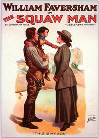 The Squaw Man - 27 x 40 Movie Poster - Style A