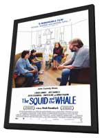 The Squid and the Whale - 27 x 40 Movie Poster - Style A - in Deluxe Wood Frame