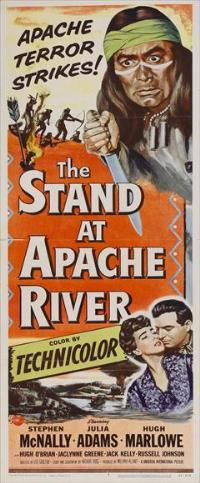 The Stand at Apache River - 14 x 36 Movie Poster - Insert Style A