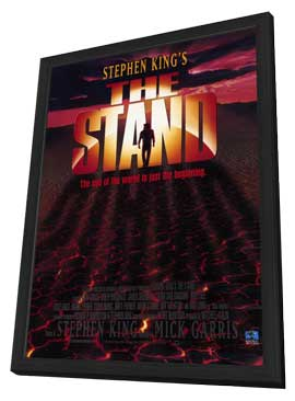 The Stand - 27 x 40 Movie Poster - Style A - in Deluxe Wood Frame