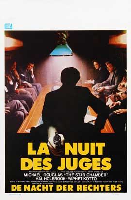 The Star Chamber - 27 x 40 Movie Poster - Belgian Style A