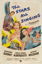 The Stars Are Singing - 11 x 17 Movie Poster - Style A