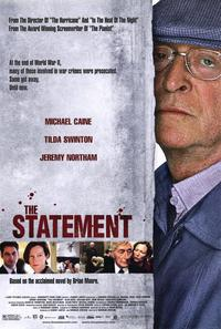 The Statement - 11 x 17 Movie Poster - Style A