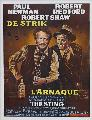 The Sting - 27 x 40 Movie Poster - Belgian Style A