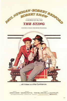 The Sting - 11 x 17 Movie Poster - Style A