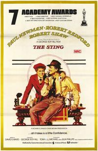 The Sting - 11 x 17 Movie Poster - Style D