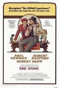 The Sting - 27 x 40 Movie Poster - Style A