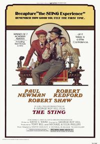 The Sting - 43 x 62 Movie Poster - Bus Shelter Style A