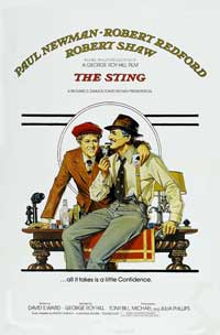 The Sting - 43 x 62 Movie Poster - Bus Shelter Style B