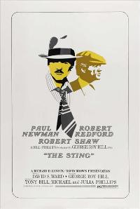The Sting - 27 x 40 Movie Poster - Style C
