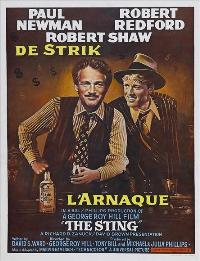 The Sting - 11 x 17 Movie Poster - Belgian Style A