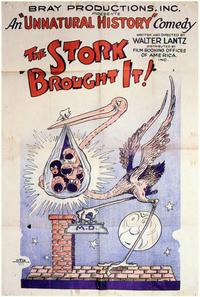 The Stork Brought It - 11 x 17 Movie Poster - Style A