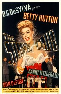 The Stork Club - 11 x 17 Movie Poster - Style A